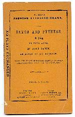 Damon And Pythias A Play in five acts. John Banim.