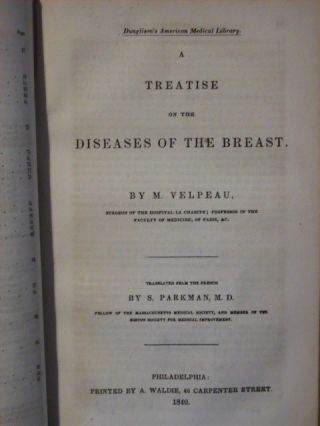 A Treatise On The Diseases Of The Breast