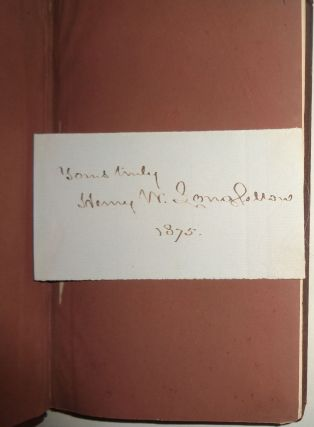 The Courtship Of Miles Standish - SIGNED