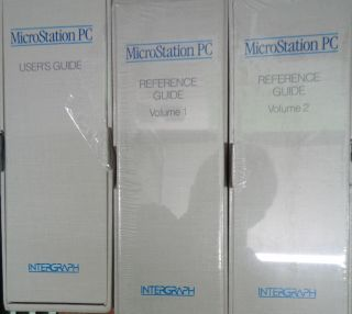 MicroStation PC 3.0 For IBM PC/XT, AT, PS/2