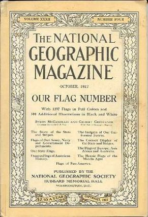 The National Geographic Magazine October, 1917, Volume XXXII, Number Four