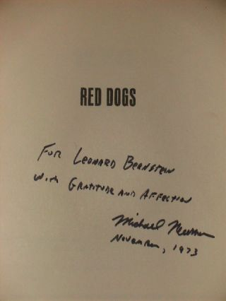 """RED DOGS"" - [signed]"